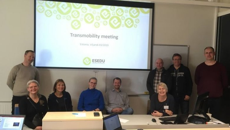 Meeting in Viljandi